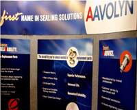 Aavolyn Sales Booth
